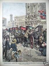 1904 MILANO CARNEVALE MERCATO ORGANETTI COSENZA