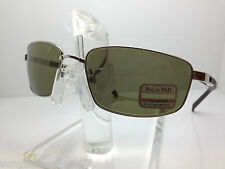 AUTHENTIC SERENGETI SUNGLASSES 7564 AGAZZI SILVER POLARIZED 555