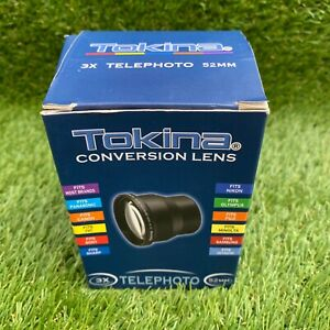 Tokina 3x AF High Definition Digital Telephoto Lens with Pouch Boxed