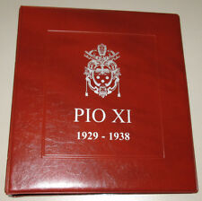 PIO XI (1929-38) raccoglitore ALBUM per MONETE del VATICANO PIO XI masterphil