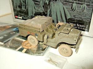 Corgi US51703 Korean War Dodge WC51 3/4 Ton Weapons Carrier Diecast Model 1:43