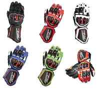 RST TRACTECH EVO CE 2579  SPORTS  CE CERTIFIED MOTORCYCLE GLOVES