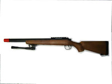 VSR WELL MB02 BOLT ACTION FINTO LEGNO CON BIPIEDE SOFTAIR AIRSOFT