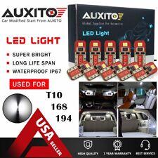 10x  AUXITO 2825 194 168 W5W T10 Interior Light License Plate Light LED Bulb CH