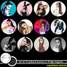 Ariana Grande SET OF 12 BUTTONS or MAGNETS pinback logo pins badges #1609