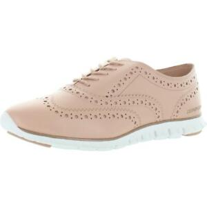 Cole Haan Zerogrand Women's Brogue Leather Lace-Up Wingtip Oxfords