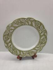 "J&G Meakin Renaissance Green 10"" Dinner Plate English Staffordshire Sterling"