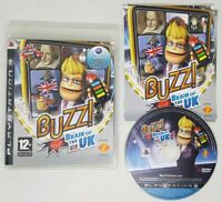 Buzz Brain of the World Playstation 3 PS3 VERY GOOD COND FAST FREE UK POSTAGE