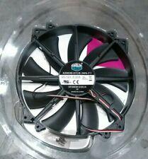 Cooler Master MegaFlow 200 Sleeve Bearing 200mm Silent Fan Computer Cases Black