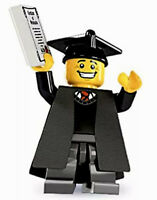 LEGO MINIFIGURE MINIFIG SERIES 5 GRADUATE SCHOOL GRADUATION CAP GOWN 8805 NEW 🎓