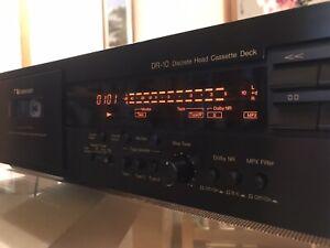 Nakamichi DR-10 Cassette Deck Ex Condition 3 Head Player.V Rare Original Packing