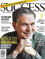 Success Magazine Reed Hastings Sales Hack Life Coach Best Business Cities CD