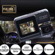 HD 1080P Rotation Lens Car Vehicle DVR Camera Dashboard Video Record G Sensor KJ