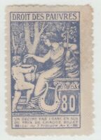 France Theater Cinderella revenue fiscal Stamp 10-7-16b