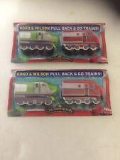 2 X Chuggington Koko & Wilson Pull Back & Go Trains