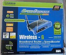 Linksys WRT54GS Wireless-G Broadband Router mit Speed Booster !! Neuwertig !!OVP