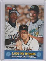 2000 Topps Combos Baltimore Orioles Baseball Card #TC10 3000 Hit Brigade