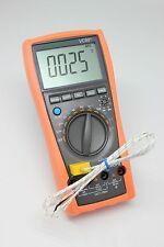 VC99+ 5999 Auto range multimeter tester DMM buzz analog bar RCFAC vs FLUKE 17B