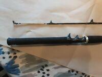 Zebco Rhino Glow Tip Rod Preowned Model Zrc 662 Mht 6 Ft 6 Inch 2 Pc Medium...