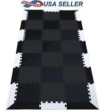 21pc EVA Foam Mat Interlocking Flooring for Exercise Gym Equipment Workout Yoga