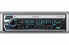 New Harley Touring Marine Kenwood KMR-D768BT Bluetooth Radio Stereo Adapter Kit