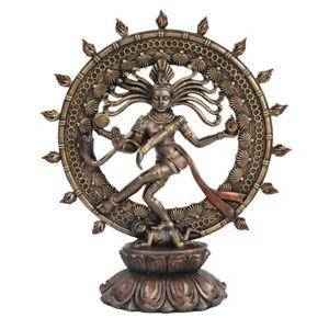 Hindu Shiva Nataraja Dancing Statue Figurine New