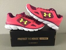 Girl's Pink Under Armour Athletic Shoes UA Micro G® Assert V SZ 7.5 - NEW