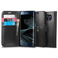 Spigen Galaxy S7 Edge Case Wallet S Black