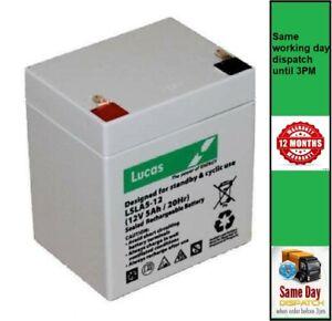 12V 5Ah Ion Block Rocker, Job Rocker, Tailgater - Replacement Battery (see list)