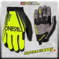 GUANTO GLOVE CROSS ENDURO QUAD MTB O'NEAL ONEAL AMX BLOCKER BLACK-NEON TAGLIA M