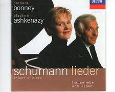 CD  BARBARA BONNEY - VLADIMIR ASHKENAZYschumann liederDECCA NEAR MINT  (A1306)