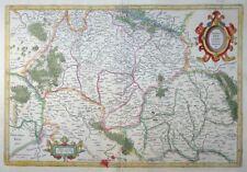 MERCATOR HONDIUS FRANKEN FRANCIA ORIENTALIS BAMBERG ROTHENBURG TAUBER 1627