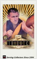 2004 Select AFL Conquest Card Series Tribute Card TC1 Jack Dyer (Richmond)