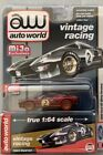 AUTO WORLD ULTRA RED 1965 FORD GT DIRTY VERSION SPECIAL EDITION 1OF 2400