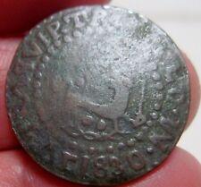 1830 (PHILIPPINES-SPANISH) 1/4 QUARTO REAL- FULL DATE---  ---very rare---