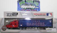 MLB Texas Rangers TX Peterbilt tractor trailer die cast 1:80 baseball collector