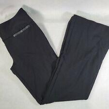 INC Women's Pants Size 8 Black Stretch Mid Rise Inseam 31 International Concepts
