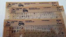 John Deere Parts Catalog 3150 Tractor Microfiche Fiche Manual