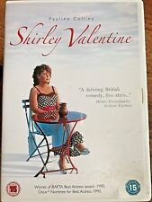 Pauline Collins Tom Conti SHIRLEY VALENTINE ~ 1989 British Housewife Comedy DVD