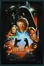 REVENGE OF THE SITH ✯ CineMasterpieces MOVIE POSTER * DARTH VADER STAR WARS 2005