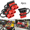 4X 50A OFF-ROAD RV CAR 12V BATTERY QUICK CONNECTOR CABLE PLUG CONNECT WATERPROOF