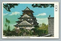 Osaka Castle Japan Japanese Postcard