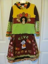 Boutique Custom 7 8 9 10 Thanksgiving Minnie Mouse feliz outfit