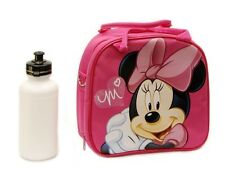 Disney Minnie Mouse Shoulder Strap Lunch Box School Bag *Licensed Product* Pink