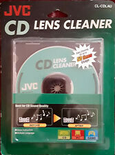 JVC CD Lens Cleaner CL-CDLAU Best For Sound Quality Easy Cleaning 50 times