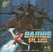 DARIUS plus NEC PC Engine HuCARD Turbografx 16 JAPAN