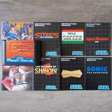 Sega Mega Drive ► Megagames 6 | Shinobi - Sonic - Streets of Rage ◄ Modul | TOP