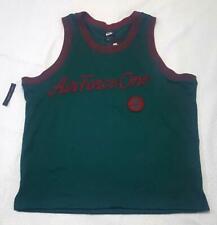 Nwt Nike Air Force One Jersey Tank Mesh Sportswear Xl Green Aj2374-335 $60