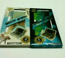 2 New Skin Decal Stickers Cover for Nintendo DS System Nintendogs & Green Blue