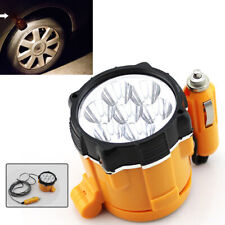 Car Cigarette Lighter 12V 7 LED Magnetic Emergency Spot Lamp Working Torch Light